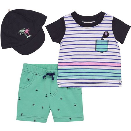 Baby Starters Baby Boys Palm Tree Layette Set