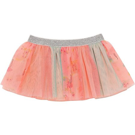 Baby Starters Baby Girls Flamingo Tutu Skirt