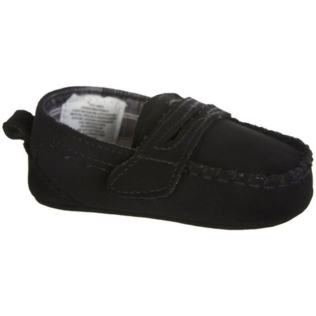 Rising Star Baby Boys Slip-On Loafer Shoes