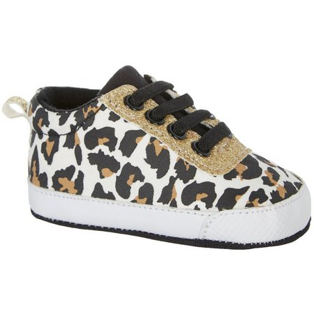Rising Star Baby Girls Leopard Shoes