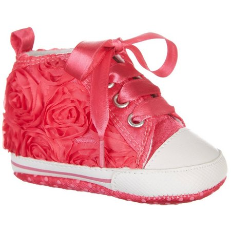Rising Star Baby Girls High Top Shoes