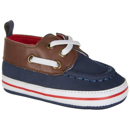 Rising Star Baby Boys Boat Shoes