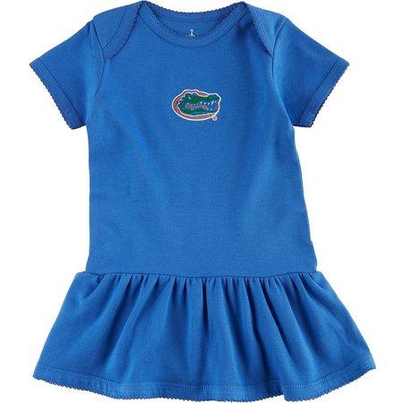 Florida Gators Baby Girls Bodysuit Dress