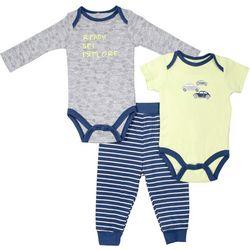 Baby Gear Baby Boys 3-pc. Car Layette Set
