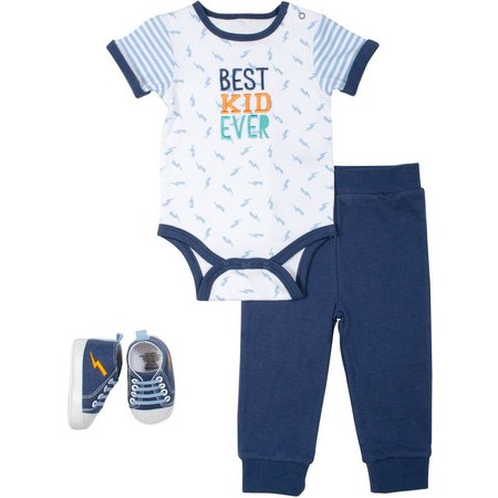New! Baby Gear Baby Boys 3-pc. Best Kid