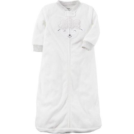 Carters Baby Boys Lamb Microfleece Sleeper Gown
