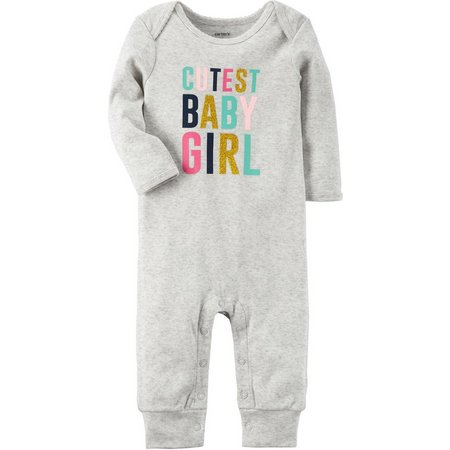Carters Baby Girls Cutest Baby Girl Jumpsuit