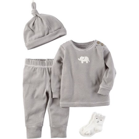 Carters Baby Boys 4-pc. Little Peanut Layette Set
