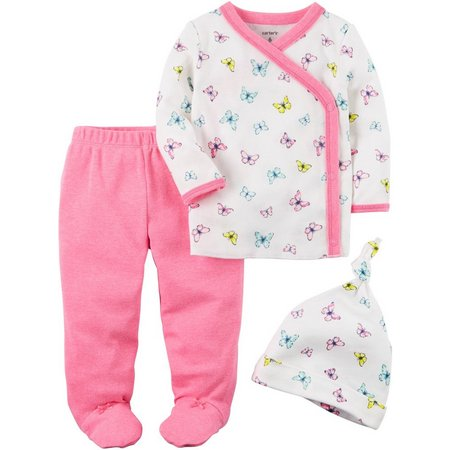 Carters Baby Girls 3-pc. Little Sweet Heart Set