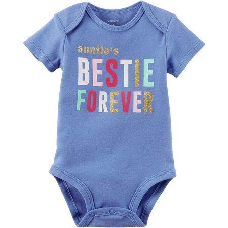 Carters Baby Girls Auntie's Bestie Bodysuit