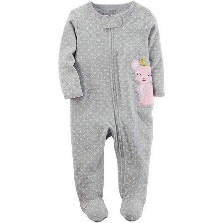 Carters Baby Girls Mouse Sleep & Play