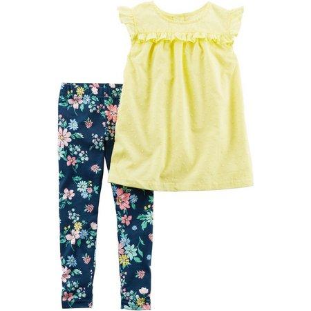Carters Baby Girls Tunic Floral Leggings Set
