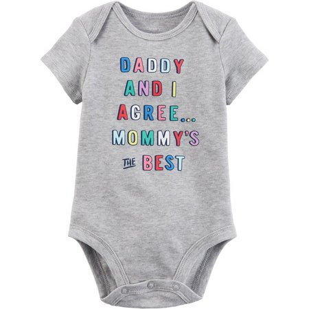 Carters Baby Girls Mommy's The Best Bodysuit