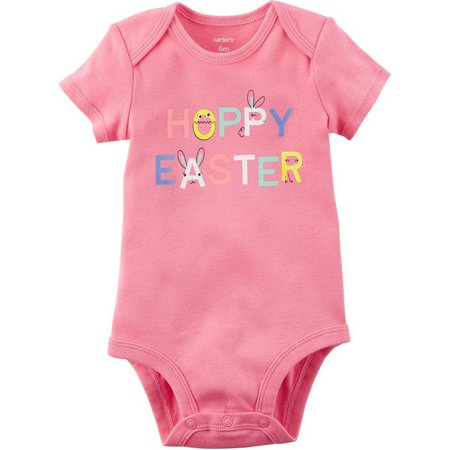 Carters Baby Girls Hoppy Easter Bodysuit