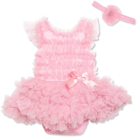 Baby Essentials Baby Girls Photo Opp Dress