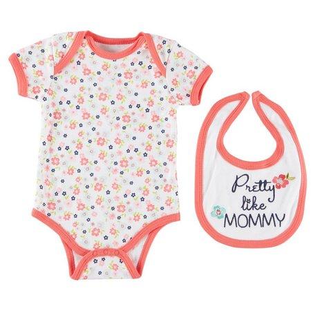 Buster Brown Baby Girls Pretty Like Mommy Bodysuit