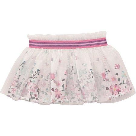 Baby Starters Baby Girls Floral Owl Tutu Skirt
