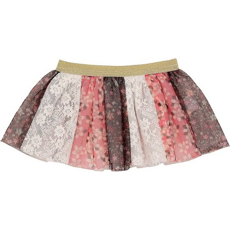 Baby Starters Baby Girls Mixed Floral Tutu Skirt