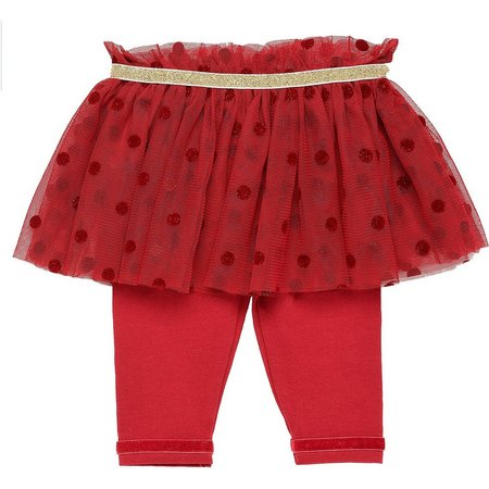 Baby Starters Baby Girls Polka Dot Tutu Leggings
