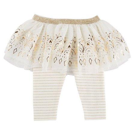 Baby Starters Baby Girls Stripe Tutu Leggings