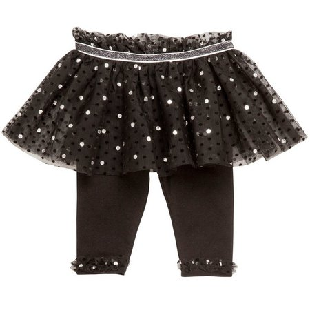 Baby Starters Baby Girls Dot Tutu Skirt Leggings