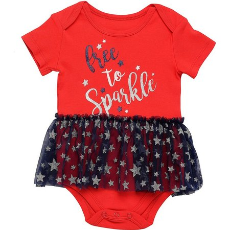 Babies with Attitude Baby Girls Sparkles Bodysuit