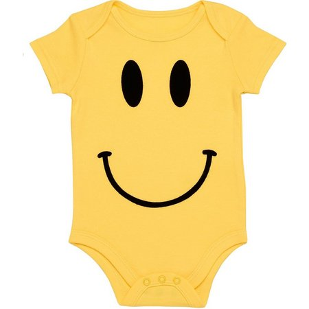 Baby Starters Baby Girls Smiley Bodysuit