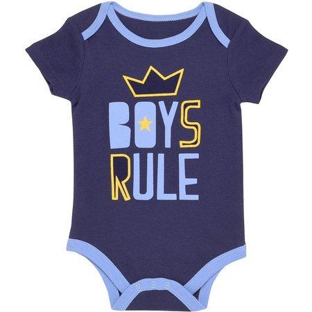 Baby Starters Boys Rule Bodysuit