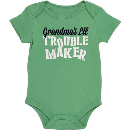 Baby Starters Baby Boys Trouble Maker Bodysuit