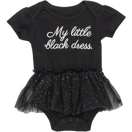 Babies with Attitude Baby Girls Little Black Dress