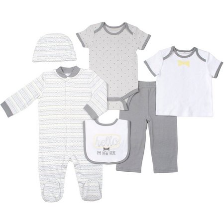 Baby Gear Baby Unisex 6-pc. I'm New Layette