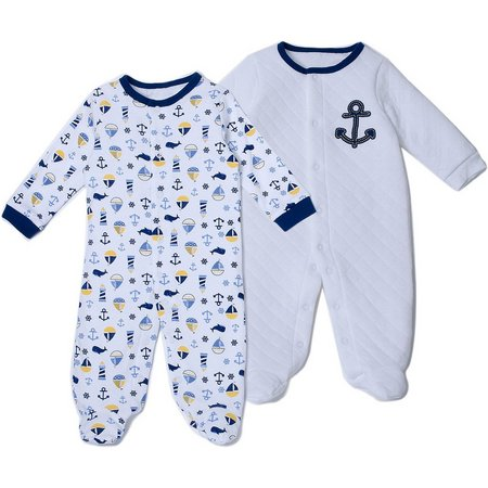 Kyle & Deena Baby Boys Bear 2-pk. Anchor