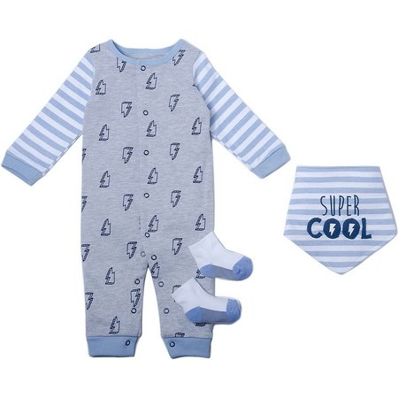 Kyle & Deena Baby Boys 3-pc. Super Cool