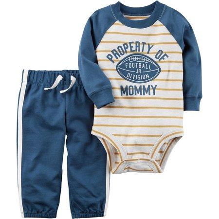 Carters Baby Boys Property of Mommy Bodysuit Set