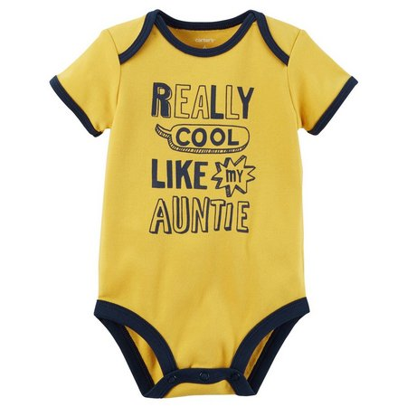 Carters Baby Boys Cool Like My Auntie Bodysuit