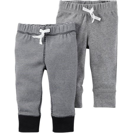 Carters Baby Boys 2-pk. Babysoft Pull-On Pants