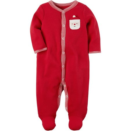 Carters Baby Unisex Santa Thermal Sleep & Play