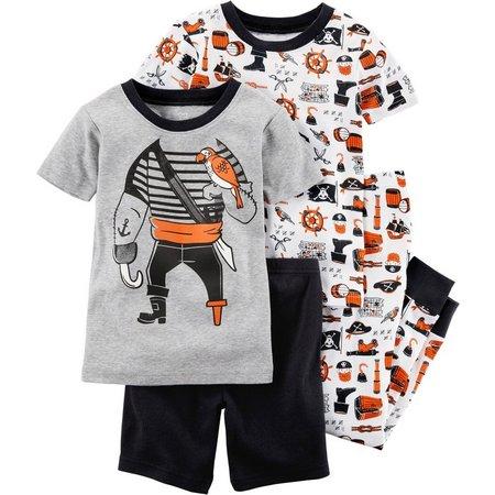 Carters Baby Boys 4-pc. Pirate Pajama Set