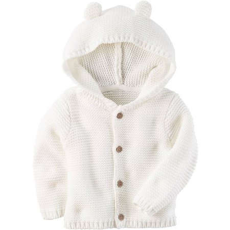 Carters Baby Boys Little Fella Hoodie