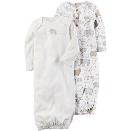 Carters Baby Boys 2-pk. Little Peanut Gowns