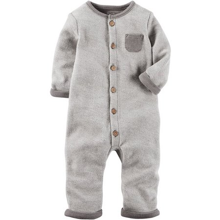 Carters Baby Boys Little Peanut Jumpsuit