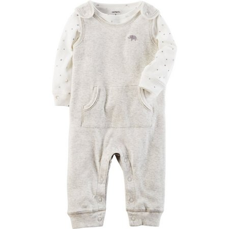 Carters Baby Boys Little Peanut Jumpsuit Set