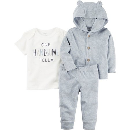 Carters Baby Boys 3-pc. Little Fella 1 Layette