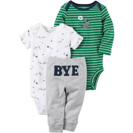 Carters Baby Boys 3-pc. Hi Puppy Layette Set
