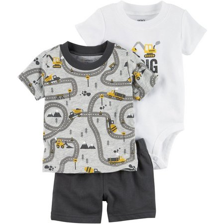 Carters Baby Boys 3-pc. I Dig Mommy Layette