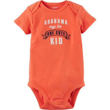 Carters Baby Boys Grandma Says I'm Cute Bodysuit