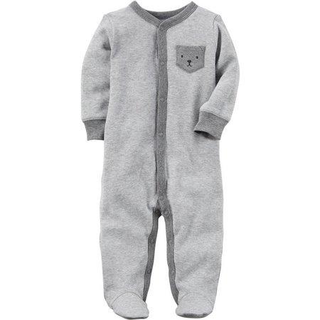 Carters Baby Boys Bear Pocket Sleep & Play