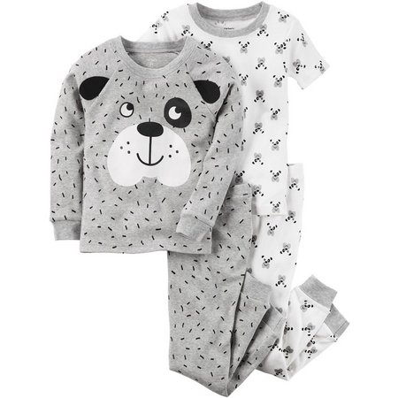 Carters Baby Unisex 4-pc. Dog Pajama Set