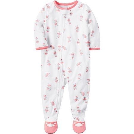 Carters Baby Girls Mouse Ballerina Sleep & Play