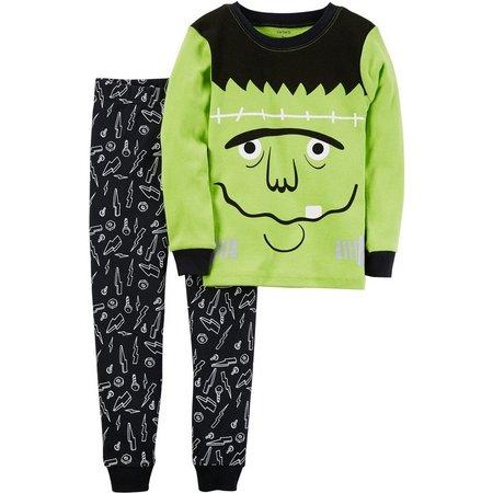 Carters Baby Boys Glow Frankenstein Pajama Set